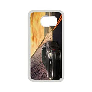 Samsung Galaxy S6 Cell Phone Case , COOL CAR Theme Custom Phone Case