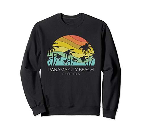 - Panama City Beach Florida Retro Souvenir Summer Keys Surf  Sweatshirt