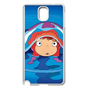Ponyo. Samsung Galaxy Note 3 Cell Phone Case White Phone Accessories JV248497