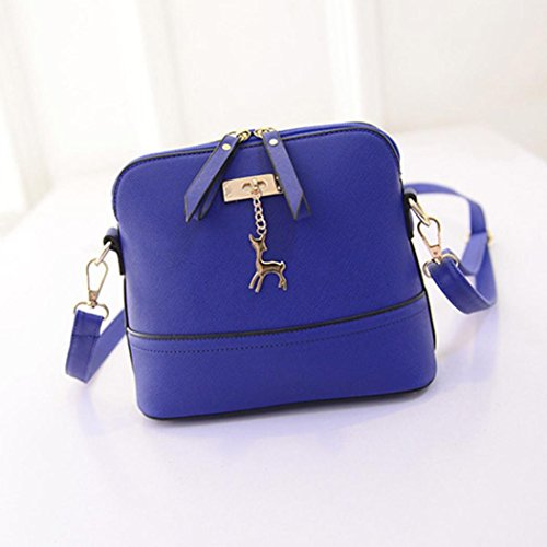 Pendant CieKen Crossbody Bag Medium with Small with Tassel Clearance Blue Deer Lightweight q14Uv