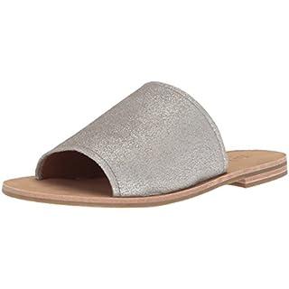 Frye Women's Riley Slide Sneaker, Silver, 9 M US