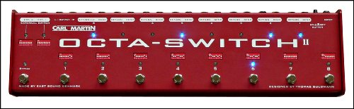Carl Martin Octa-Switch II Guitar Signal Path Pedal