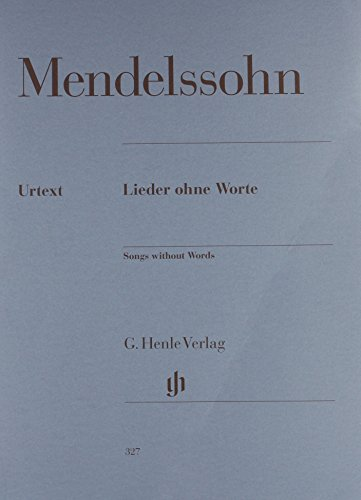 Songs Without Words Lieder Ohne Worte
