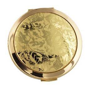 Stratton 英国ストラトン社 デュアルミラーコンパクトミラー  [ Lorelei Gold ] STDM1125 (直径7cm 厚さ1cm) B01HXH4EGS