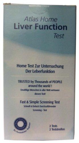Atlas Home Liver Function Urine Test - Pack of 2 Tests by Atlas (Best Diabetes Test Kit Uk)