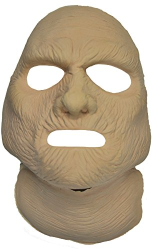 UHC Scary Prosthetic Mummy Face Theme Party Latex Adult Halloween Costume (Halloween Prosthetic Masks)
