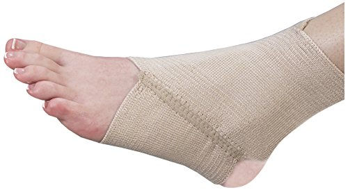 (Bilt-Rite Mastex Health Tri-Stretch Ankle Support, Beige, Large/X-Large)