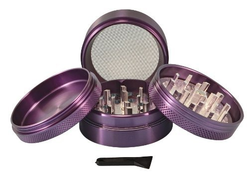 Sharpstone Solid Piece Grinder Purple product image