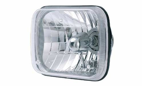 Rampage Products 5081127 200mm Square Conversion Headlight Assembly (each)