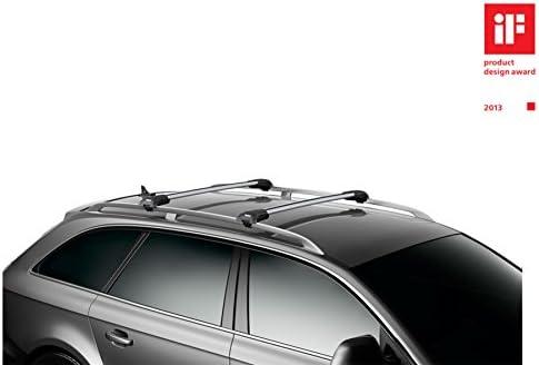Thule Wingbar Edge 90401234 Komplett System Inkl Schloss Für Volkswagen Tiguan Der Leise Und Sichere Lastenträger Auto