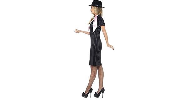 Gangster-Disfraz para mujer talla s: Amazon.es: Juguetes y juegos