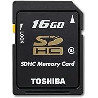 Toshiba Secure Digital 16GB Class 10 UHS-I High Capacity SDHC Memory Card (PFS016U-1DCK)