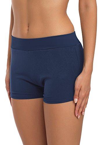 Merry Style Shorts de Ba?o para Mujer Modelo Sara Azul Oscuro (6219)