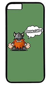 Funny Angry Viking Thanksgiving Halloween Masterpiece Limited Design PC Black Case for iphone 6 by Cases & Mousepads