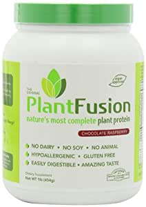 Plant Fusion Diet Supplement, Chocolate Raspberry, 1 Pound