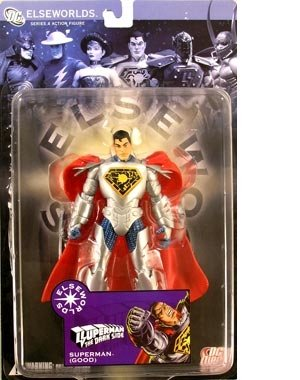Elseworlds 4: The Dark Side: Superman 'Good' Action Figure Dc Direct Elseworlds Series