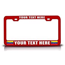 License Plate Covers Venezuela Personalized Customized License Plate Frame Rd.