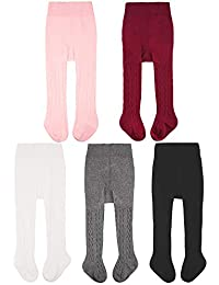 Baby Tights Toddler Leggings Pantyhose for Baby Girls...
