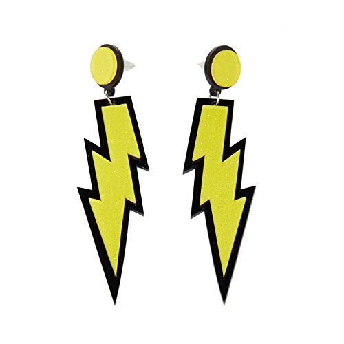 ZeroShop Women Fashion Retro Neon Lightning - Neon Retro