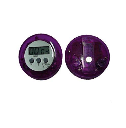 Kitchen Big Timer Countdown Large Digits Purple - 2