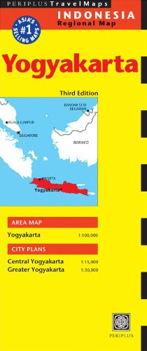 Yogyakarta Travel Map Third Edition (Indonesia Regional Maps)