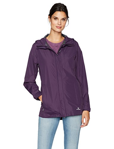 White Sierra Guide 2.5 Layer Jacket, Shadow Purple, Large