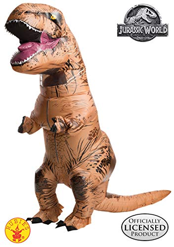 Best Halloween Themed Movies Of All Time (Rubie's Adult Official Jurassic World Inflatable Dinosaur Costume, T-Rex,)