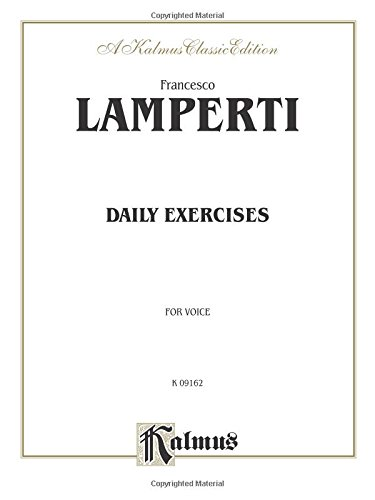 Daily Exercises in Singing (Kalmus Edition)
