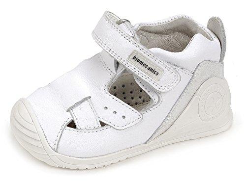 Biomecanics 172141, Sandalias para Bebés Blanco (White)