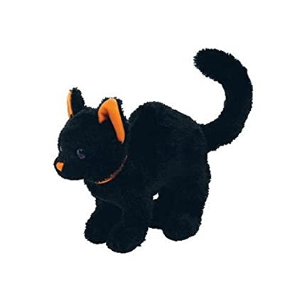 ed93f51dacd Image Unavailable. Image not available for. Color  Ty Beanie Babies -  Scaredy Cat 2.0 Black