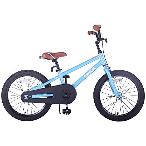 JOYSTAR Kids Bike for 5 6 7 8 Years Old Boys, 18 Inch Child Bicycle with Kickstand, ()