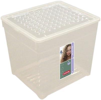 Curver - Caja para Ropa y Textil del Hogar 33L. - Con Tapa - Color ...
