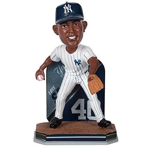 MLB New York Yankees Severino L. #40 Name & Number Bobble, Blue, One Size