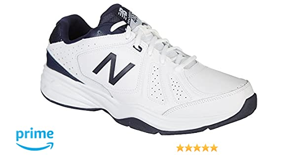 New Balance Mens Casual Comfort MX409V3 Training Shoes, Size: 8.5 D(M) US, Color: WhiteNavy