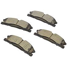 Bosch BC1611 QuietCast Premium Ceramic Disc Brake Pad Set For Select Ford Explorer, Flex, Police Interceptor Sedan, Taurus; Lincoln MKS, MKT; Front