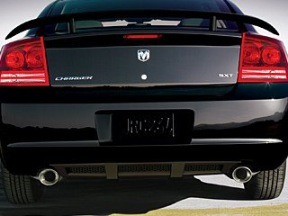 dodge charger rear bumper - 4