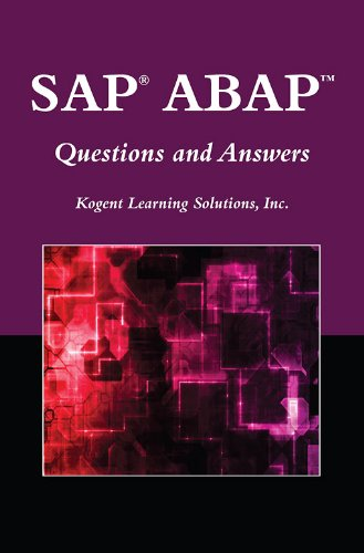 Download SAP® ABAPTM: Questions and Answers (Jones and Bartlett Publishers SAP Book) Pdf