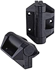 Polaris Soft Close Spring Hinge for Pool Gates. Exceeds Australian Safety Standards. U.V. Stabilised Polymer Construction. Suitable for Aluminium & Metal Gates.