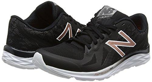 Femmes Balance Fitness Multicolore New noir Chaussures De Blanc Pour 790v6 wX4Fq1d6
