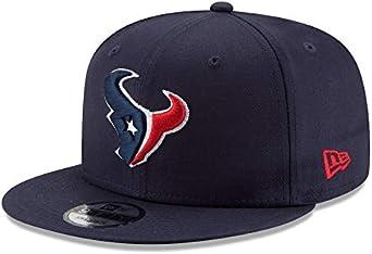 HOUSTON TEXANS NEW ERA NFL VISOR NAVY ON FIELD STRAPBACK HAT CAP *SHIPS IN BOX!*