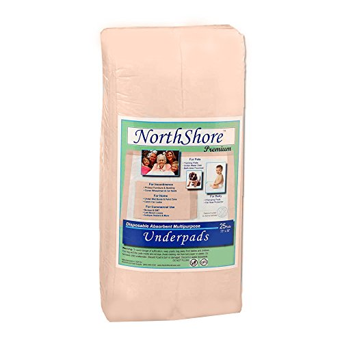 NorthShore Premium, 23 x 36, 42 oz., Changing Pads, Large, Pack/10