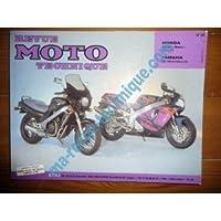 RRMT0092.2 REVUE TECHNIQUE MOTO - HONDA NTV650 Revere de 1988 à 1997 YAMAHA YZF750R de 1993 à 1994