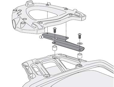 GIVI SR6403 Monokey Topcase Fitting Kit for Triumph Tiger Explorer 1200