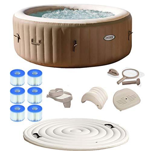 Intex Pure Spa 4-Person Inflatable Portable Hot Tub