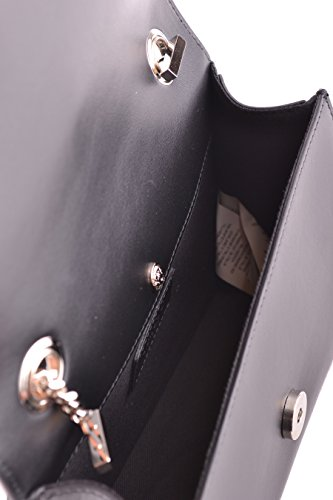 Versace Borsa A Spalla Donna FBD1232FV10F460N Pelle Nero