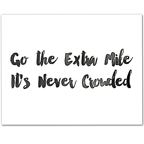 go the extra mile - 8