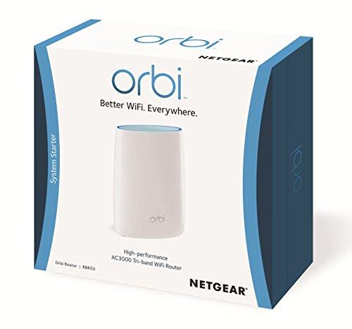 Netgear Orbi Home Whole Home Mesh Wifi System Tri Band