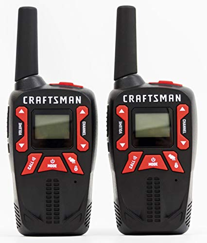 Craftsman CMXZRAZF333 Walkie Talkies Two-Way Business Radios (Pair) by Craftsman (Image #12)