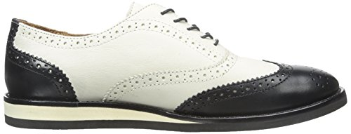 Polo Ralph Lauren Mens Johnsly Suede Oxford Noir / Ivoire