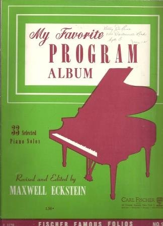 (My Favorite Program Album no. 2)